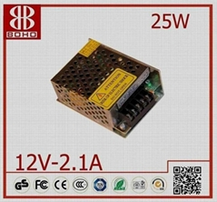 DC12V 25W LED POWER SUPPLY