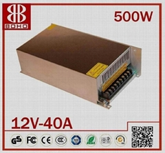 DC12V 500W LED POWER SUPPLY SWITCHING POWER SUPPLY