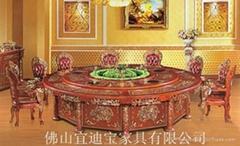 佛山宜迪寶傢具廠商對接5米電動餐桌