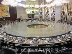 大型電動餐桌轉盤轉芯
