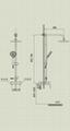 Multi function shower set JHF339C 2