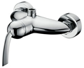 Single handle two  holes  shower mixer