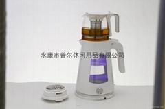 Double shell glass Electric tea maker ML-1632T