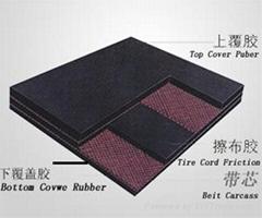 EP/NN conveyor belt
