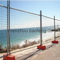 temporary welded mesh fence