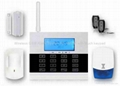 GSM PSTN Alarm System built in touchpad