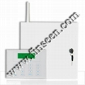 Bi-directional wireless communication GSM PSTN Alarm work with dual-way keypad 1