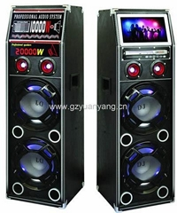 dual 10inch speaker 2.0 Professional sound Speaker systems with TV&DVD