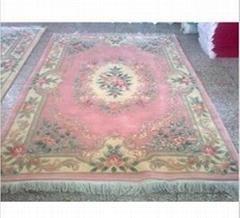 Handmade 90L Wool Carpet