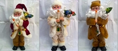 Best Popular B/O Santa Claus W/Music&Move Christmas Toys