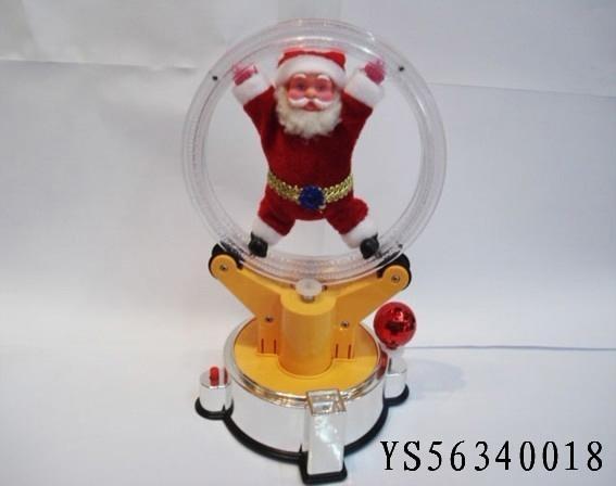 Best Popular B/O Santa Claus W/Music&Move Christmas Toys 2