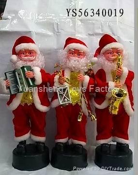 Best Popular B/O Santa Claus W/Music&Move Christmas Toys 3