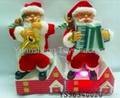 Best Popular B/O Santa Claus W/Music&Move Christmas Toys 4