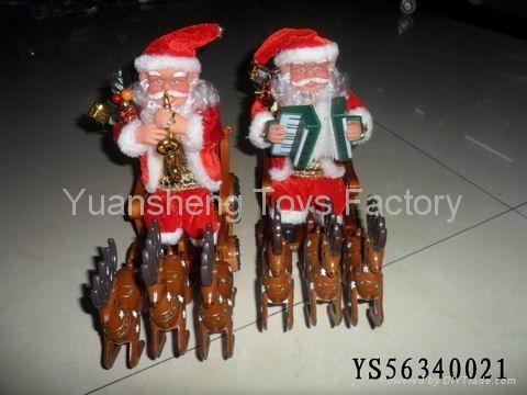 Best Popular B/O Santa Claus W/Music&Move Christmas Toys 5