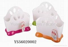 Hot Popular Plastic Cutlery Holder Set