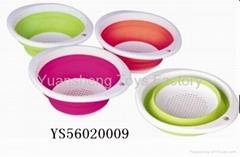 Best selling colander toy plastic folding houseware