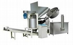 snack food frying machine frying pot by pot in Chenyang Machinery
