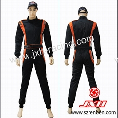 2012 Latest 2 Layer Fireproof Auto Racing Suit