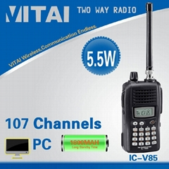 Quality Assured IC-V85 Navy Military Walkie Talkie