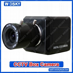 1/3 SONY CCD 540TVL  MINI Box Camera