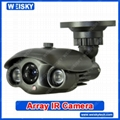 Color Waterproof Array IR Camera