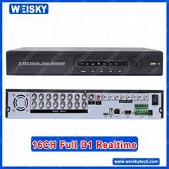 16CH Full D1 Network DVR