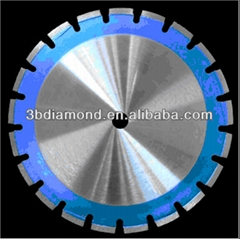 High-grade Laser welded diamond saw blade