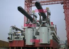 spud carrier of dredger
