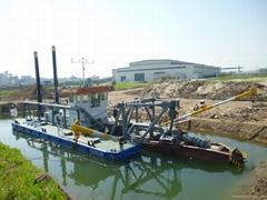 300CBM cutter suction dredger