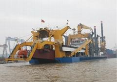 5000CBM cutter suction dredger