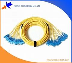 24 core SC Fiber optic patch cord,distribution cable patch cord