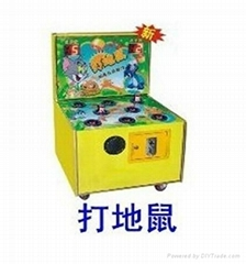 hammer hit mouse game machine