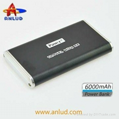 Best selling for promotion ALD-P06 6000mah battery phone charger