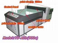 compare the flatbed printer with UV printer
