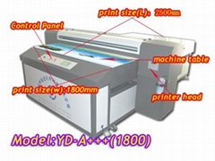 muti-color flatbed printer machine