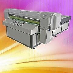 Inkjet Metal Flatbed Printer Eco Solvent High Quality