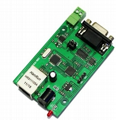 RS232 RS485 to ethernet serial to Ethernet server module ethernet module
