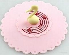 天鵝杯蓋粉色