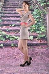休閑女式連衣裙