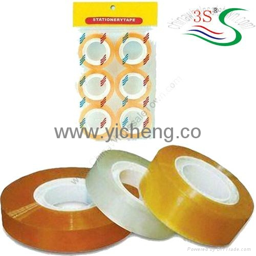 Crystal Clear Stationery Tape 3S 1