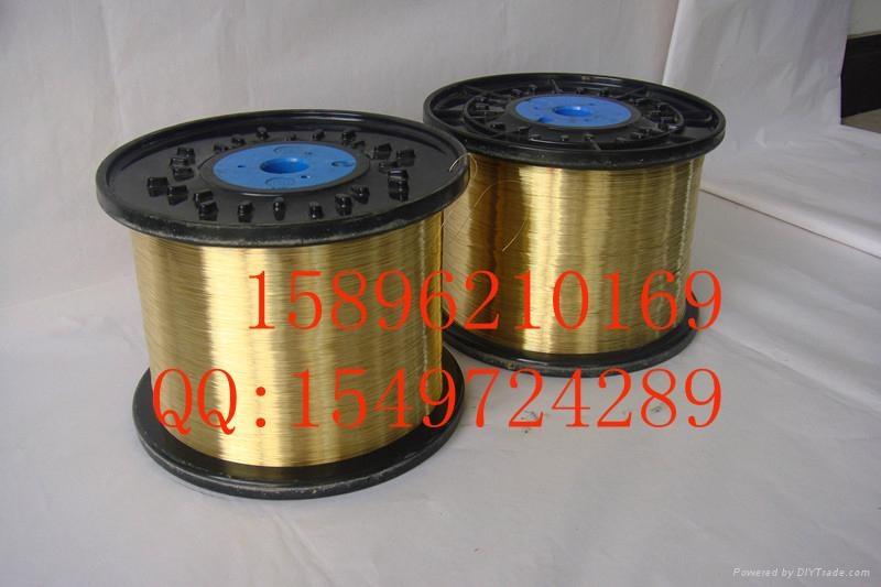 橡膠增強用黃銅鋼絲 黃銅絲 金屬絲鍍銅 1