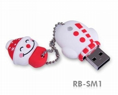 Rubber USB Drives
