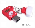 Rubber USB Drives 3