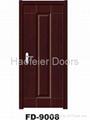 PVC MDF Interior wooden door