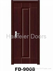 PVC MDF Interior wooden door