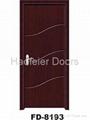 Cheap PVC MDF interior doors