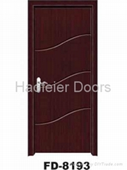 Cheap PVC MDF interior doors