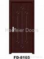 Cheap PVC MDF interior doors 2