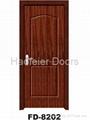 Cheap PVC MDF interior doors 4