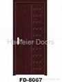 PVC MDF Wooden door manufacturers